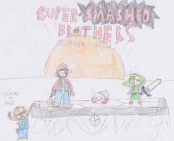Super Smashed Brothers: Drunken Brawl by Reinaert