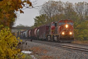 CN and BNSF I 10-15-14 by the-railblazer