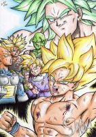 Dragonball Z-Broly Movie by MatiasSoto