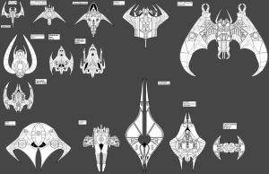 fighter size comparison by Aseika