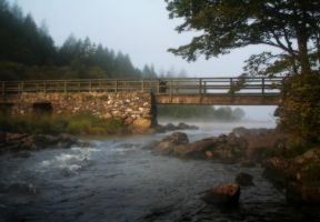 Bridge in fog by nectar666