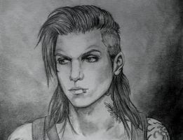 Andy Dennis Biersack by honeycat007