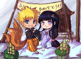 Naruto - Happy New Year! by kimidori