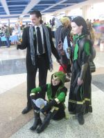 Loki Trio .:Metrocon 2012:. by King-Can