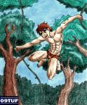 Jungle Boy - Color - Comission #037 by 09tuf