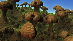 Valley of the Shrooms by moonhigh
