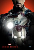 Iron Man 3 fan poster by crqsf
