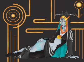 Midna by Nathaldron