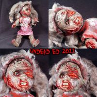 Rot Tot Chloe Zombie doll 2 by Undead-Art