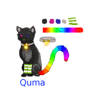 Quma ref sheet by Tontora
