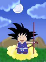 Kid Goku by adic-winchis