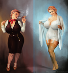 Maggie1930 Day And Night by clc1997