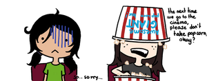 Say no to popcorn EVER by Dese-M