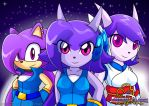 The Past, Present and the Future Lilac by Arung98