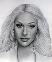 Christina Aguilera (Unforgettable) by jardc87