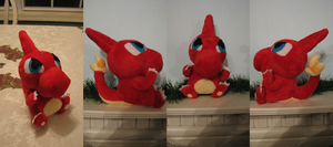 Charmeleon Pokedoll Style Plush by HottieHulio