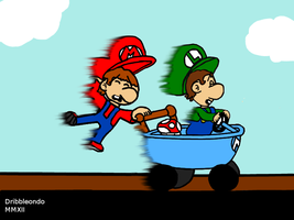 Bad Baby Mario Situations 22 by dribbleondo