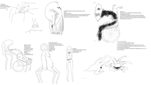 Hospital demon designs by here-kitty--kitty