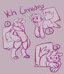 YCH Set price Cinnadogs!! [Points or Cash] by MystikMeep