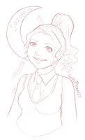 Pottermore Sketch -Josephine- by Ukeaco