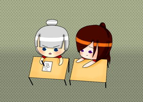 NEW ID~ Drawing with BFF~ by NadeshikoLove1