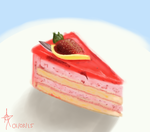 Strawberry Cheesecake by CelestialRainfall