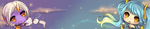 Soraka and Sona Banner by BrandiMuffin