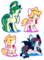 [COMM] Pony Batch 5 by Zhampy