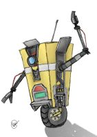 Claptrap by HopeDragon