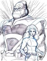MONKEYMAN AND O'BRIEN by Wieringo