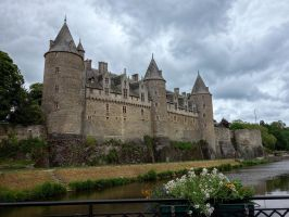 Josselin Castle. by rhipster