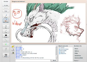 Iscribble: Haku by audioslavekitty