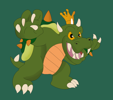 Super smash toons - Bowser by pikachuandpichu106