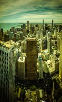 Chicago skyline III by DanielGliese