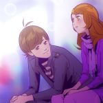 Angelica and Benjamin by chamakoso