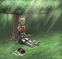 Renier In The Woods by SodiePawp