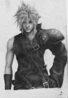 Cloud Strife by OhRealllyyNoww