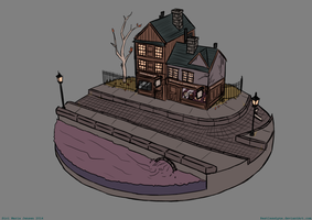 Victorian House Concept by RestlessLynx