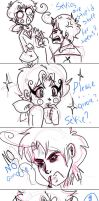 Hetalia- selfie part two (Not the real one!) by CarolconC