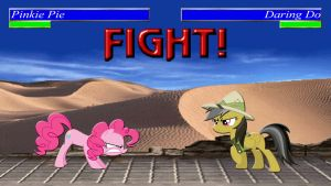 Pony Kombat Tournament Round 1, Battle 4 by Macgrubor