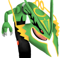 Rayquaza by Tboni