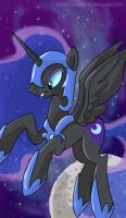 MLP Portrait Series - Nightmare Moon by sophiecabra