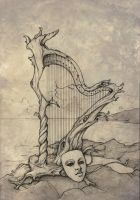 The Driftwood Harp by CopperAge