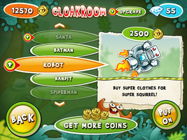 squirrel story upgrade cloakroom robot by VVVp