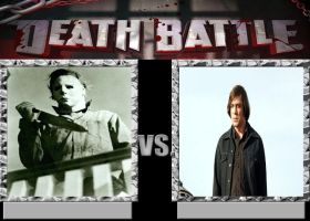 Michael Myers Vs Anton Chigurh by Normanjokerwise