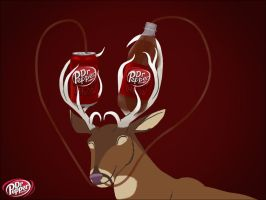 Deer hearts Dr Pepper by Pegasicorn