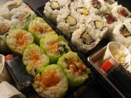 Sushi lovely sushi by Santian69