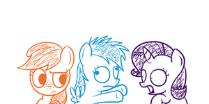 The Cutie Mark Diaries (WIP Concept Art) by postcrusade