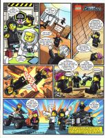 Lego Ultra Agents comic page 2 by DanVeesenmeyer