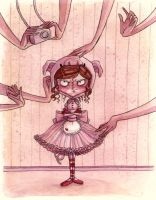 The Angry Ballerina by maina